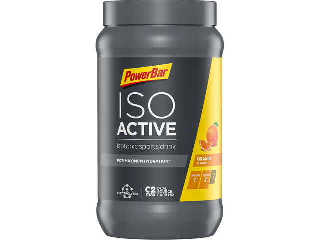 PowerBar Isoactive Isotonic Sports Drink Confezione 600g, Orange